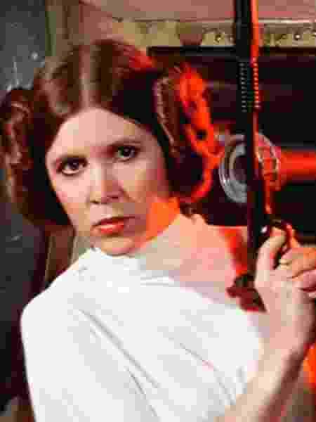 """Carrie Fisher como Princesa Leia em """"Star Wars"""" - Divulgação"""
