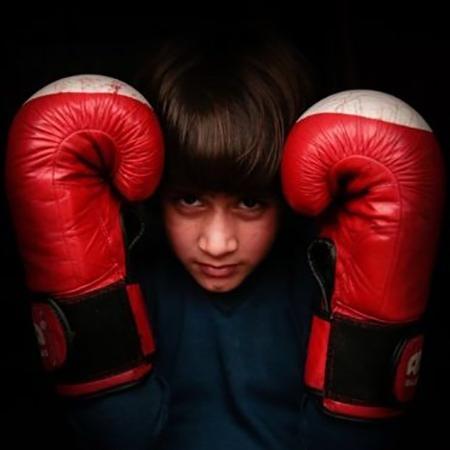 Tajamul Islam, da Caxemira, reina no kickboxing - Abid Bhat/BBC