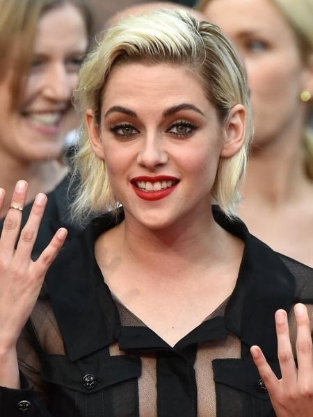 Não quer raiz e pontas de tons diferentes como Kristen Stewart? Estes produtos podem ajudá-la - AFP