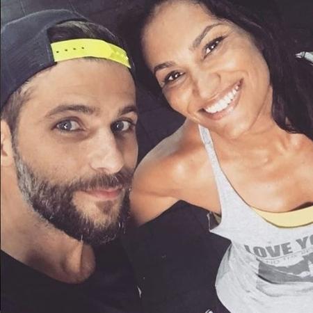 O ator treina de quatro a cinco vezes por semana com Jamille - Reprodução/Instagram