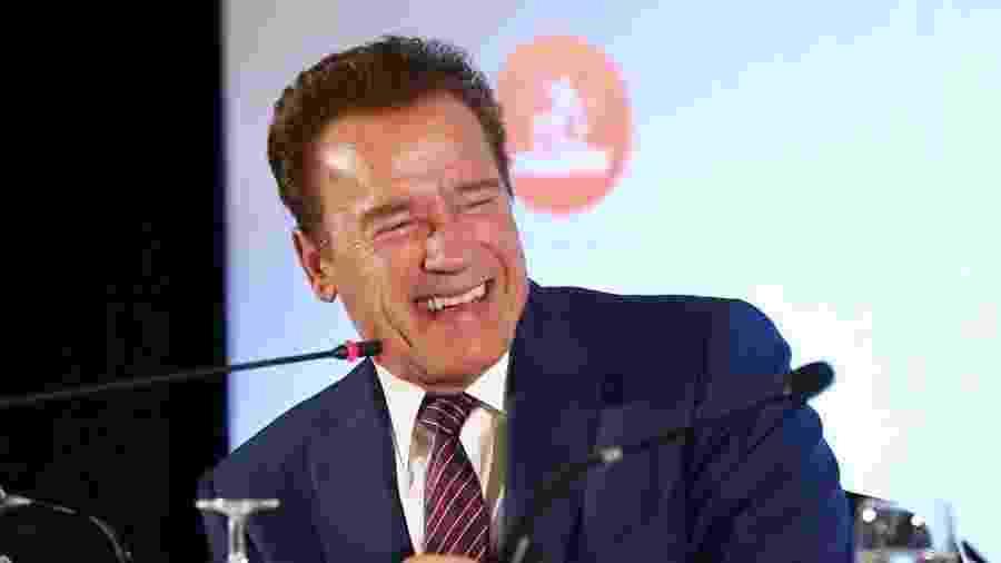 O ator Arnold Schwarzenegger - Manuela Scarpa/Brazil News