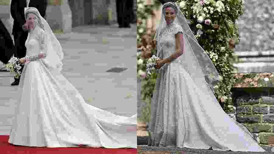 Kate vs. Pippa Middleton: qual é a noiva mais elegante? - AFP/Reuters