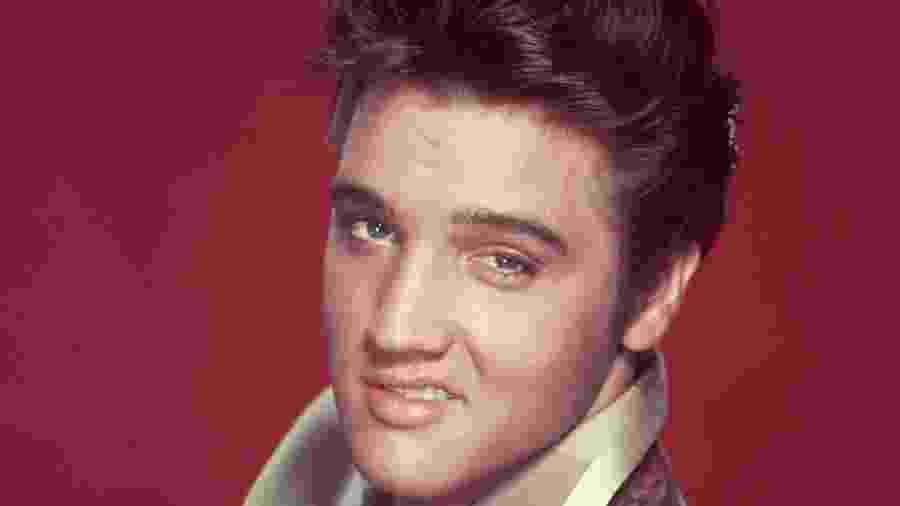 O cantor Elvis Presley - Reprodução