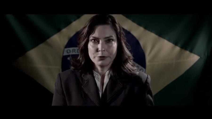Valéria Monteiro em um dos vídeos gravados para sua pré-candidatura à Presidência da República - Reprodução/YouTube/valeriamonteiro