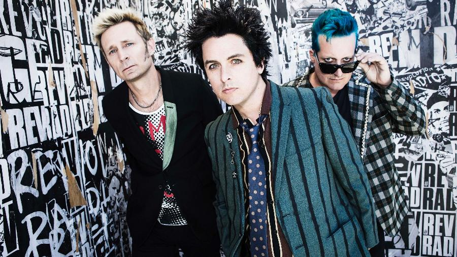 Green Day fará quatro shows no Brasil começando em 1 de novembro - Divulgação