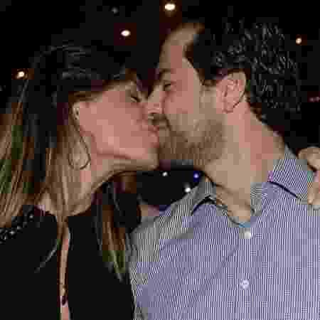 Daniela Cicarelli com o namorado em show em São Paulo - Francisco Cepeda/AgNews - Francisco Cepeda/AgNews