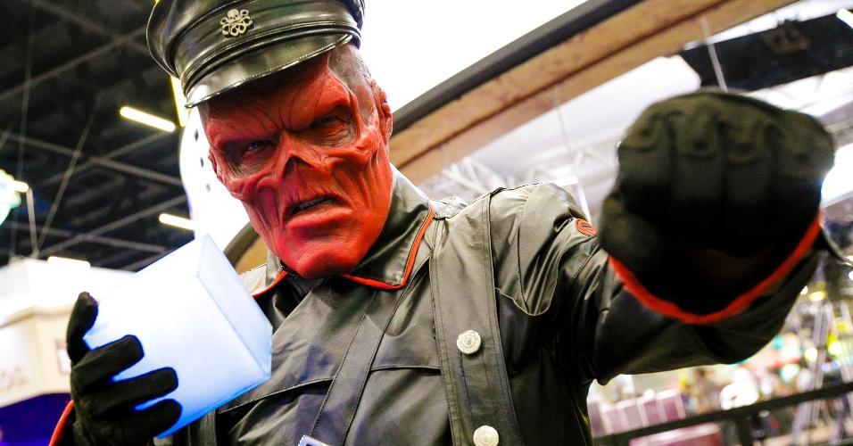 Red Skull aterroriza a CCXP