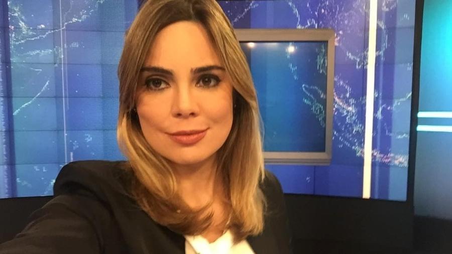 """Rachel Sheherazade, apresentadora do """"SBT Brasil"""" - Reprodução/SBT"""