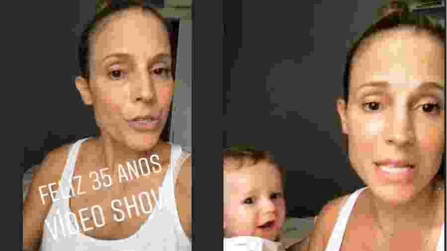 """Maíra Charken lamenta não ter sido convidada para especial de 25 anos do """"Vídeo Show"""" - Reprodução/Instagram"""
