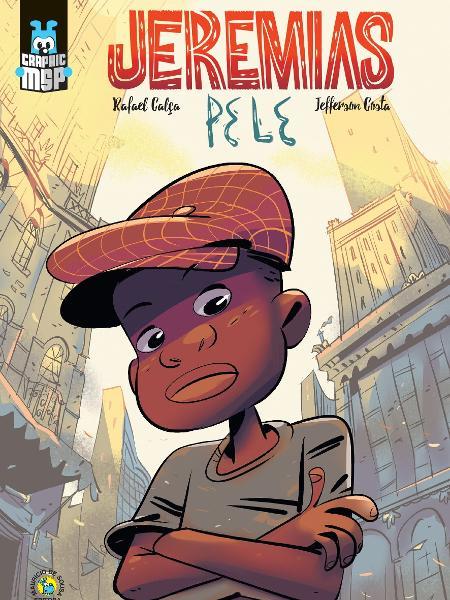 """Capa da graphic novel """"Jeremias - Pele"""" - Divulgação"""