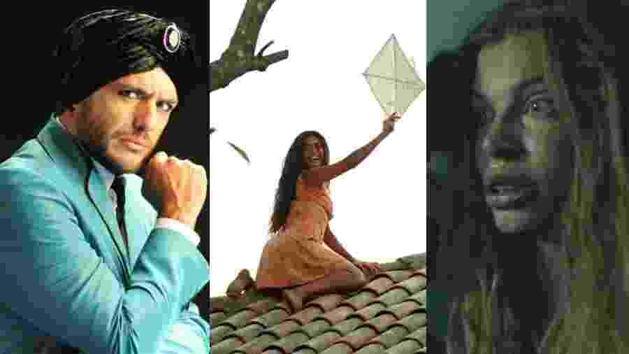 """Novelas das 23h como """"O Astro"""" (2011), """"Gabriela"""" (2012) e """"Verdades Secretas"""" (2015) foram reclassificadas como séries - João Miguel Júnior/Alex Carvalho/Divulgação/Reprodução/Globo"""