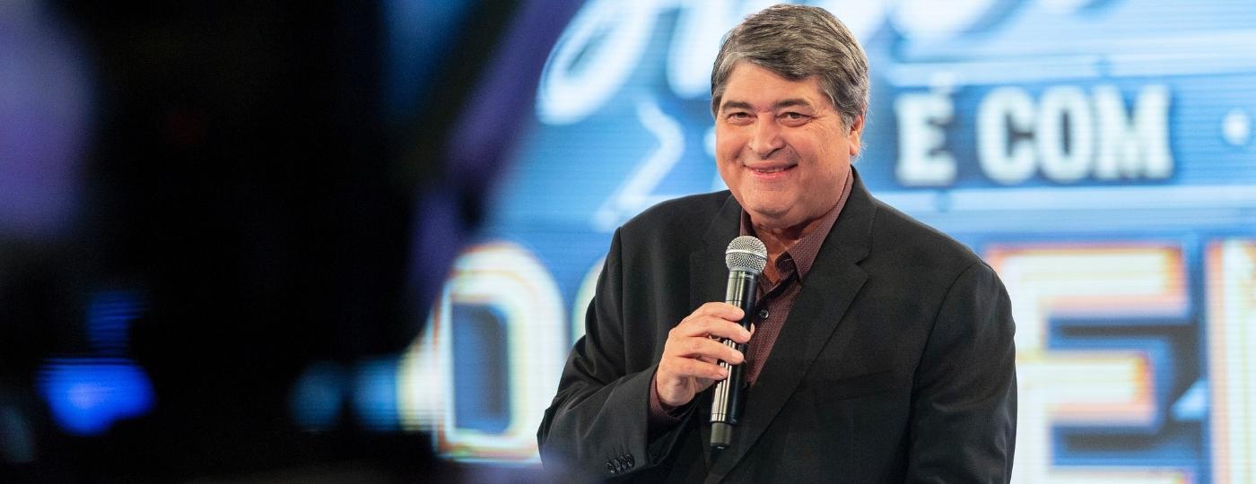 Datena lança seu novo programa na Band - Kelly Fuzaro/TV Bandeirantes