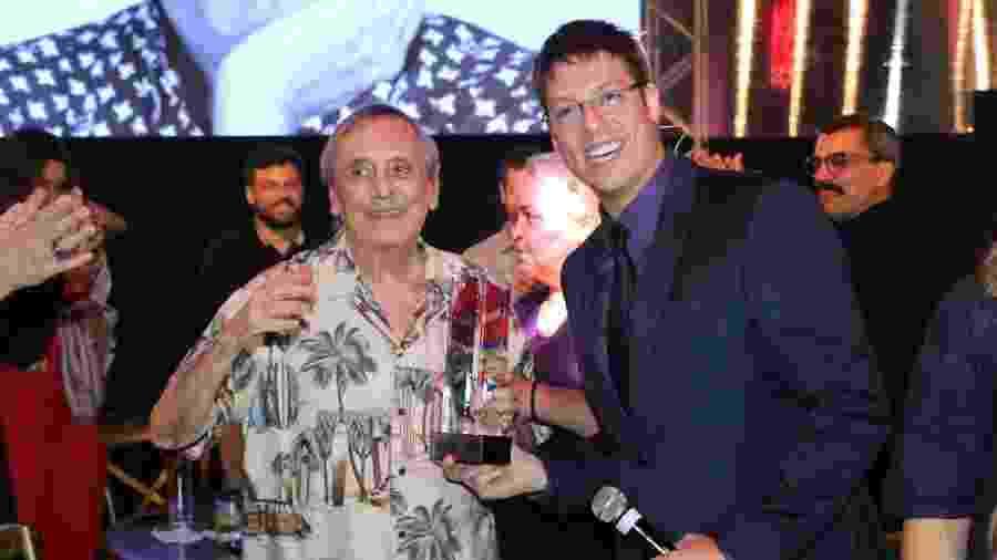 Agildo Ribeiro recebe homenagem no Prêmio do Humor, apresentado por Fábio Porchat - Daniel Pinheiro/AgNews