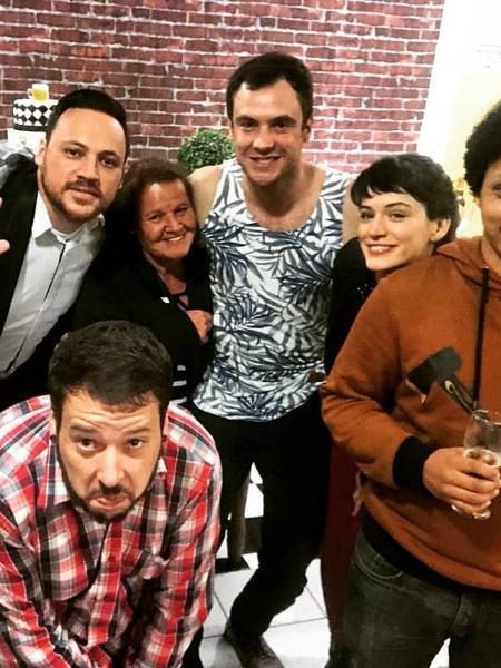Sérgio Guizé completa 38 anos e comemora ao lado de Bianca Bin - Reprodução/Instagram