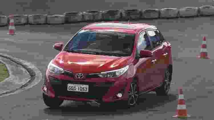 Toyota Yaris XLS - Murilo Góes/UOL - Murilo Góes/UOL