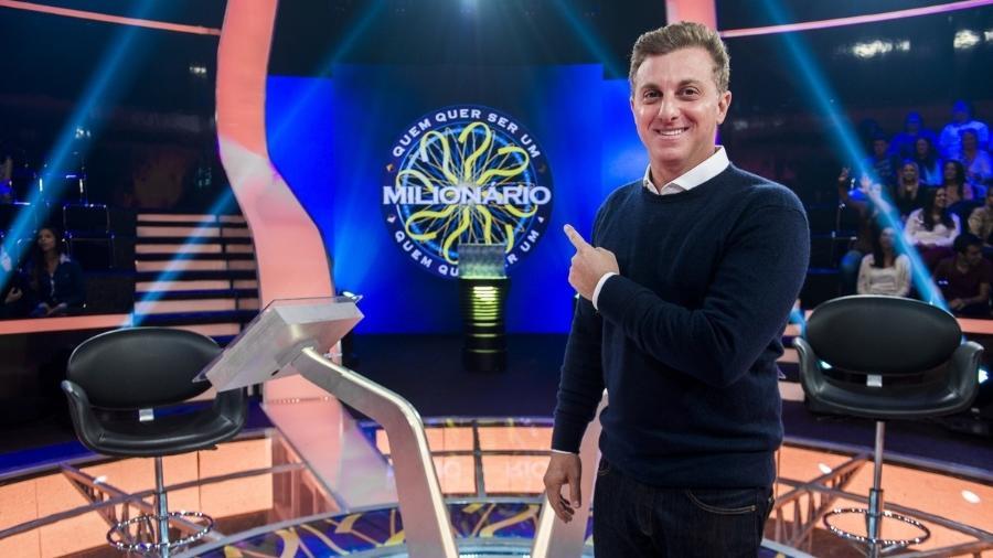 """""""Quem quer ser milionário?"""" quadro de sucesso do programa de Luciano Huck - Divulgação/TV Globo"""