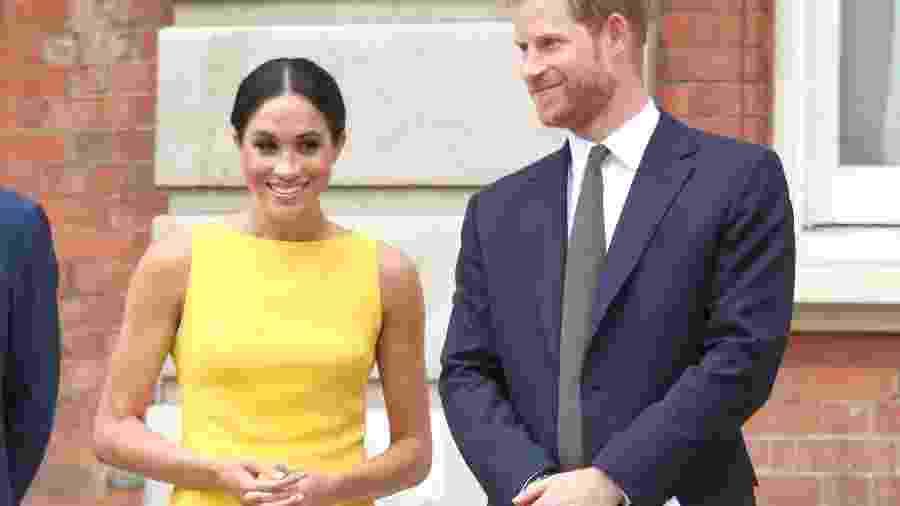 Meghan, a duquesa de Sussex, e o príncipe Harry - Getty Images