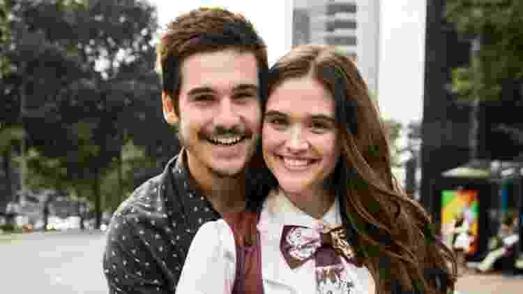 Nicolas Prattes e Juliana Paiva formam o casal Marocas e Samuca da novela das sete - Divulgação/TV Globo - Divulgação/TV Globo