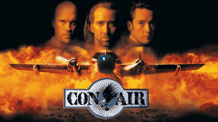 """Imagem do filme """"Con Air"""" - Reprodução - Reprodução"""
