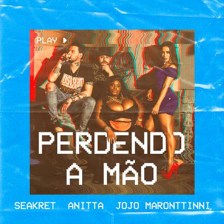"""Capa de """"Perdendo a Mão"""", do duo Seakret - Divulgação"""