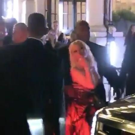 Nicki Minaj manda beijos após briga com Cardi B durante festa em Nova York - Reprodução/Instagram