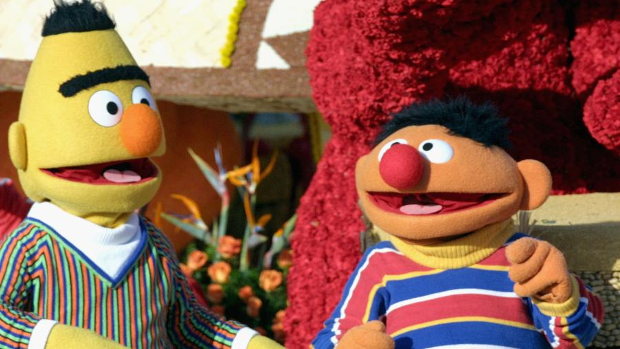 Bert e Ernie, da Vila Sésamo - Matthew Simmons/Getty Images