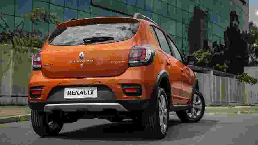 Renault Sandero Stepway - Divulgação