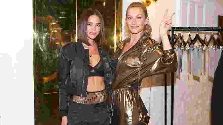 Bruna Marquezine e Gisele Bundchen em evento nos EUA - Reprodução/Instagram