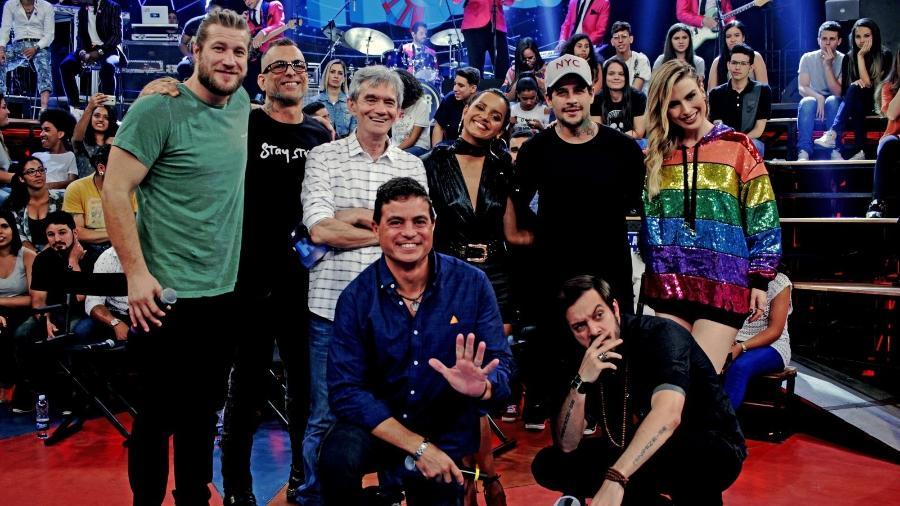"Globo reúne sete dos 18 campeões de ""Big Brother Brasil"" - Marcos Mazini/TV Globo"