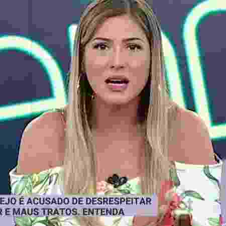 Lívia Andrade - Reprodução/SBT - Reprodução/SBT