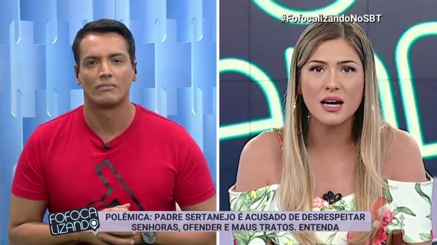 Lívia Andrade se defende da acusação de que maltrata funcionários do SBT - Reprodução/SBT