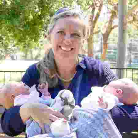 Manda Epton se tornou mãe aos 50 anos - Reprodução/Facebook