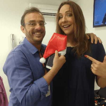 Octavio Guedes e Maria Beltrão - Reprodução/Instagram