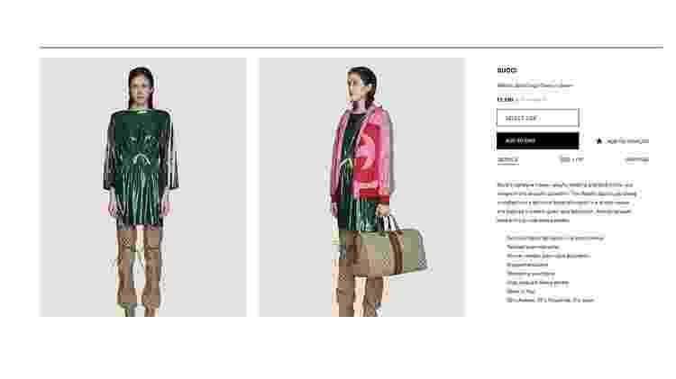 Vestido Gucci - Reprodução - Reprodução