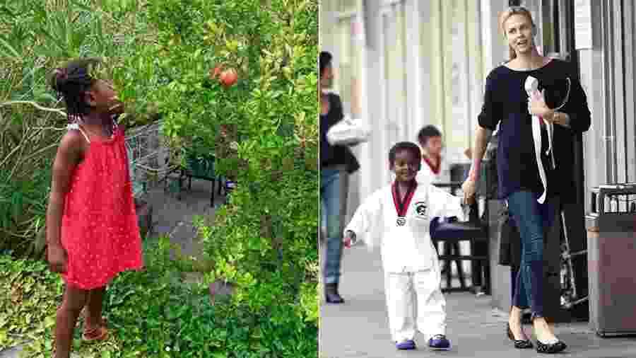 """De acordo com Charlize Theron, seu filho Jackson descobriu que não era """"menino"""" aos 3 anos - Reprodução/Instagram - Grosby Group"""
