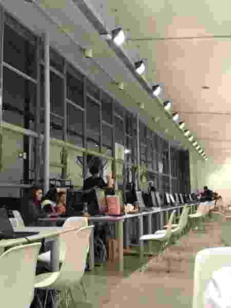 Sala de imprensa da SPFW - Natalia Eiras/UOL