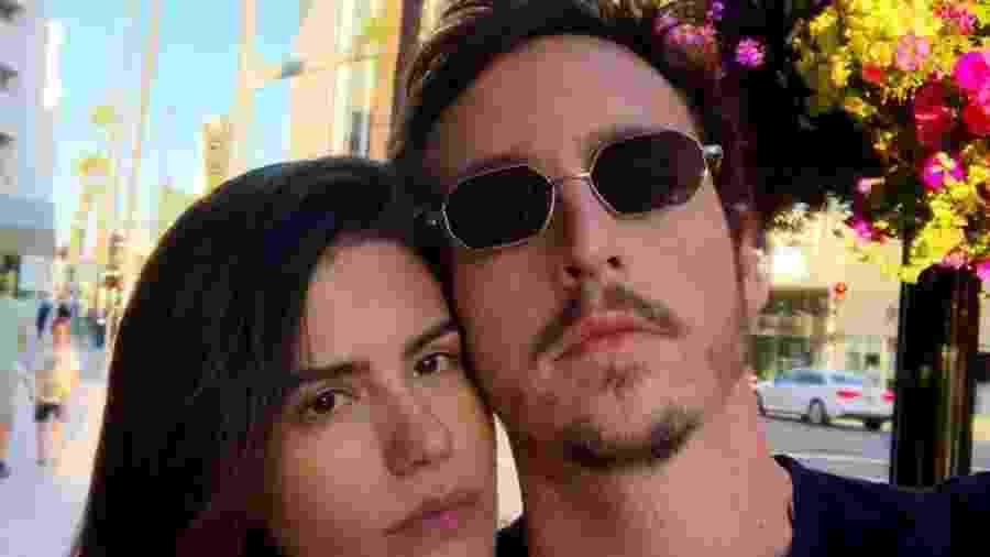 Wagner Santisteban com a noiva, Antonia Morais - Reprodução/Instagram