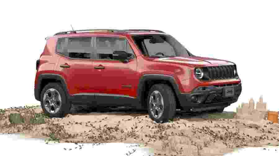 """Renegade é hoje o menor modelo da Jeep, mas isso vai mudar em 2022, segundo revelou executivo ao site """"Auto Express"""" - Divulgação"""