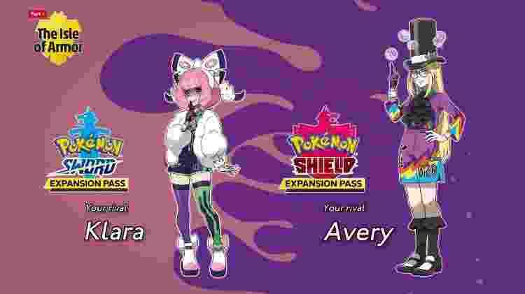 Pokémon Rivais - Reprodução - Reprodução