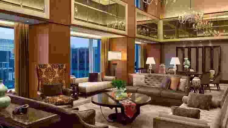 Suíte presidencial Shangri-La Hotel Tokyo - Divulgação - Divulgação