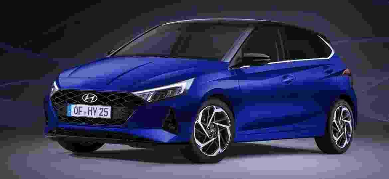 Novo Hyundai i20 será uma das estrelas do Salão de Genebra - Divulgação