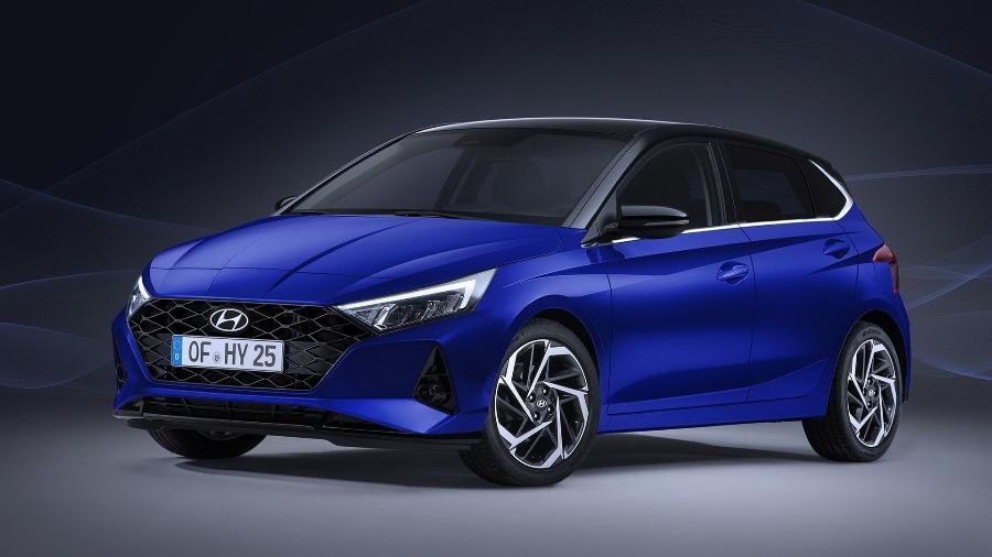 O novo Hyundai i20 não será vendido no mercado brasileiro - Divulgação