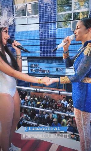 Luma Sobral e Claudia Leitte no Carnaval 2020