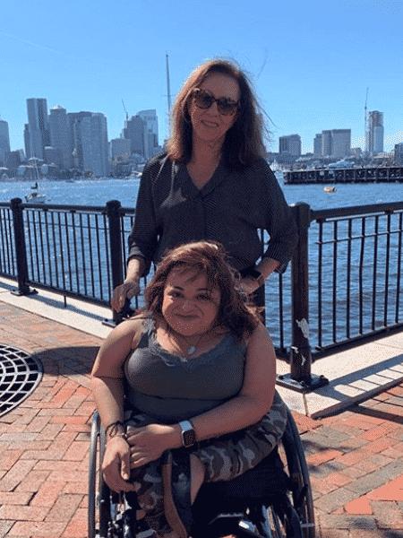 maria fernanda - NY - deficientes - Arquivo pessoal - Arquivo pessoal