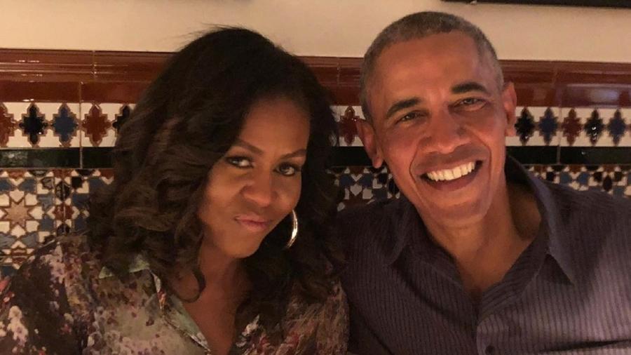Michelle Obama e Barack Obama - Reprodução/Instagram