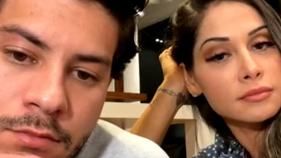 Mayra Cardi fala sobre conversão em live - Reprodução Instagram