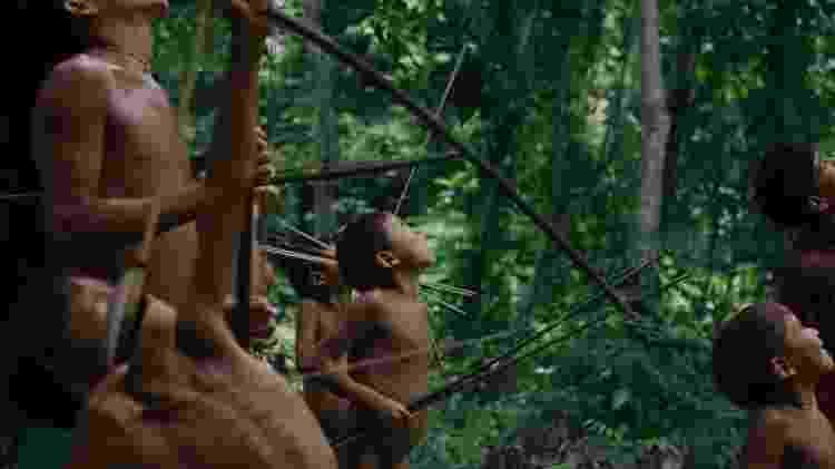 Cena de 'A Última Floresta', filme brasileiro exibido no Festival de Berlim 2021 - Reprodução - Reprodução