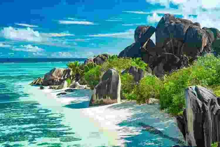 Registro de uma das ilhas de Seychelles  - Getty Images - Getty Images