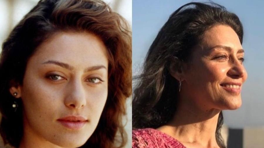 """Maria Fernanda Cândido viveu Paola em """"Terra Nostra"""" - Reprodução / Globo / Jorge Baumann / Reprodução / Instagram"""