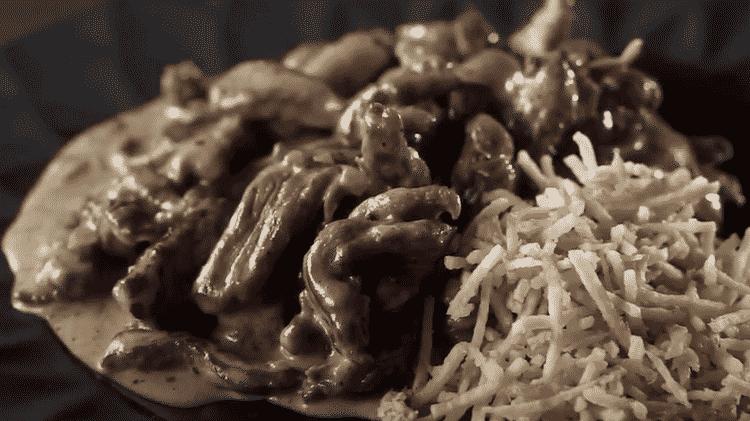 estrogonofe de carne - Salted Caramel - Salted Caramel